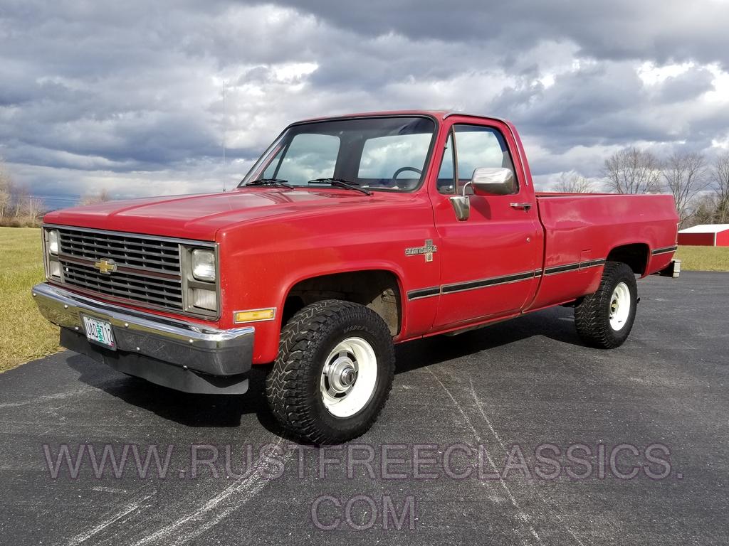 1986 86 Chevrolet Chevy K10 1  2 Ton 4x4 Four Wheel Drive