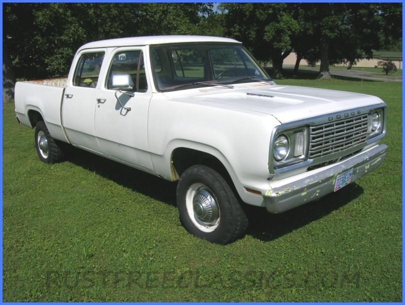 1977 Dodge W200 Short Bed Crew Cab 360 4x4 77