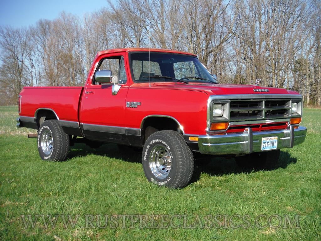 1990 Dodge W150 Short Bed 4x4 90 Swb Power Ram