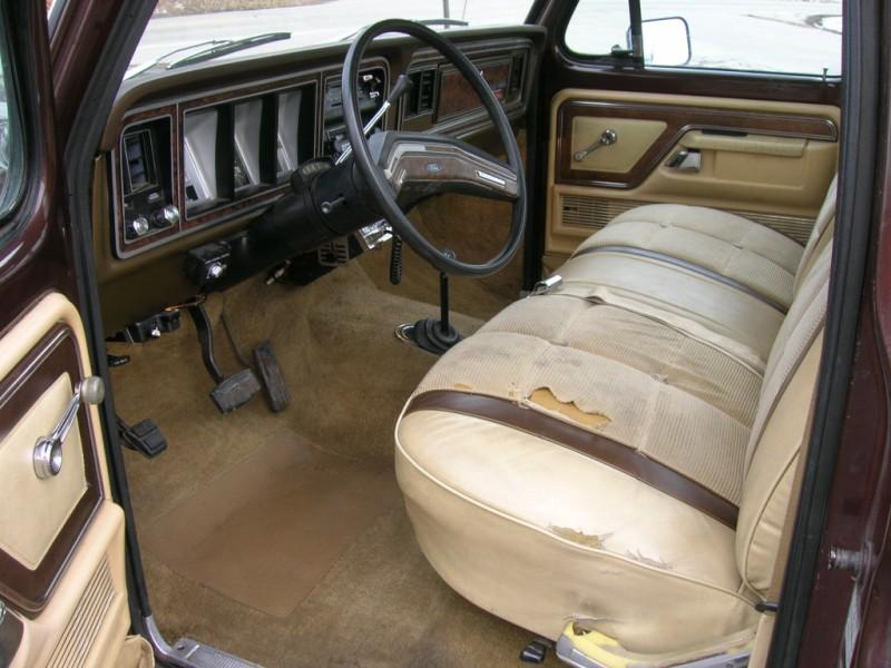 1979 F250 Long bed 4x4 regular cab Lariat brown 79