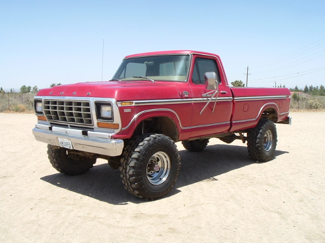 Home » 1979 Ford F600 4x4 For Sale